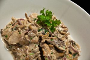 Wild Mushrooms in Cream Recipe